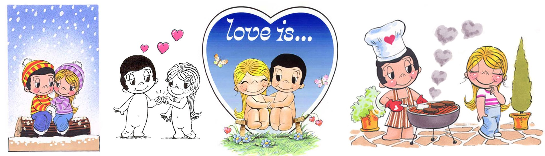 Love is... 50 years young! | Artful Asprey Cartoons